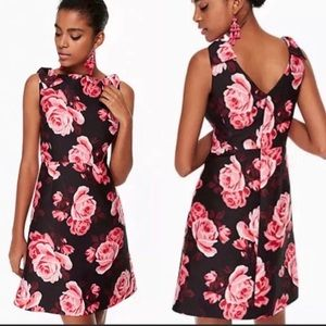 NWT KATE SPADE Rose Print Floral Cocktail Dress